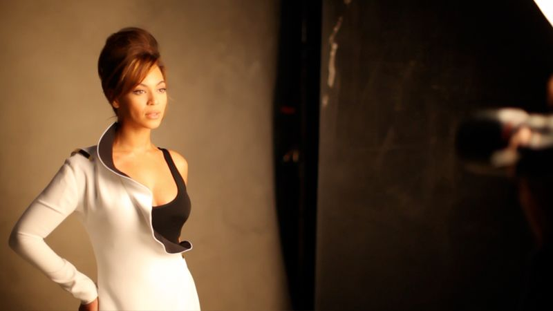 watch on set with vogue behind the scenes beyonc233s
