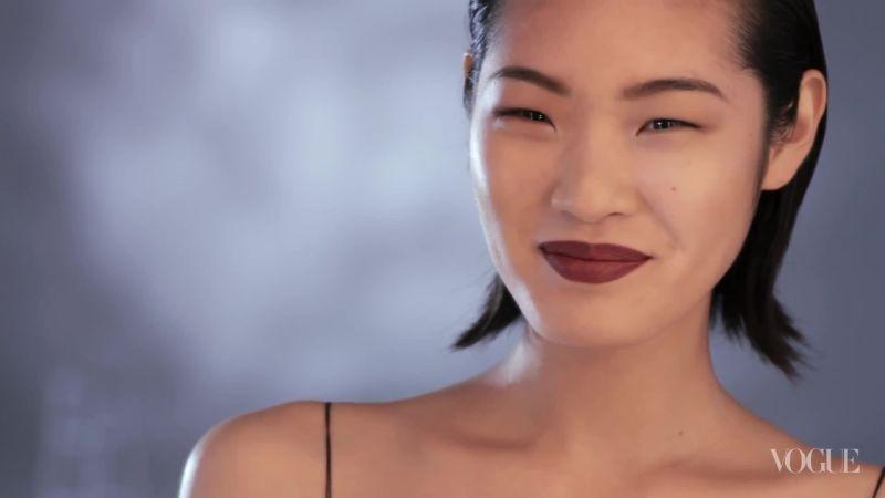 The Bordeaux Lip - Vogue Videos - The Scene