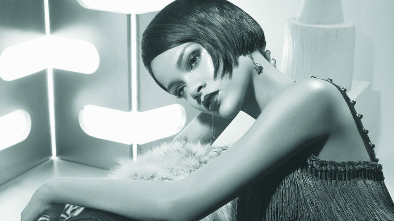 Rihanna's Cover Shoot - Allure Videos - The Scene Rihanna's