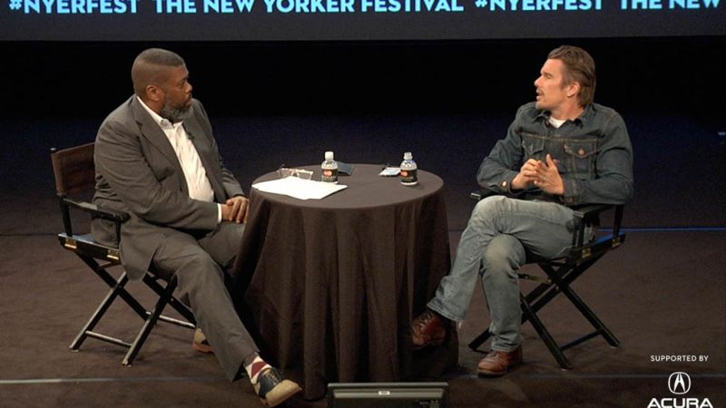 Ethan Hawke and Hilton Als (Full)