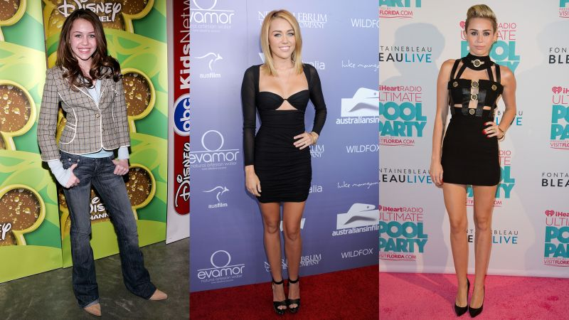 Watch Beauty Evolution Miley Cyrus Before The Nude