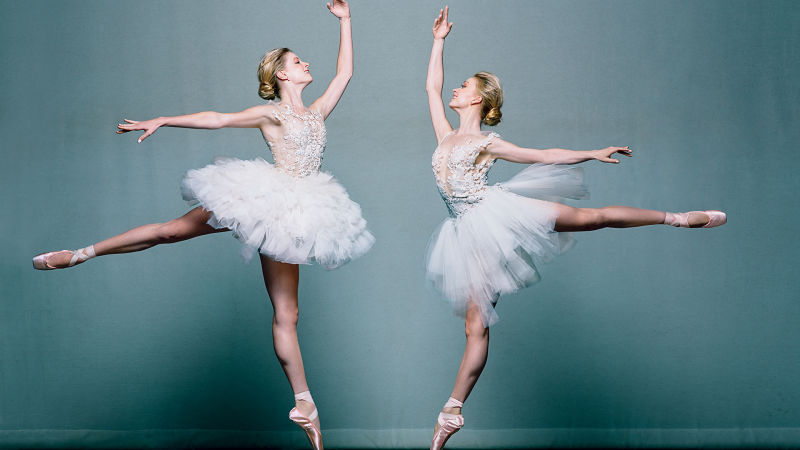 Ballerina Brides From the American Ballet Theatre Look En