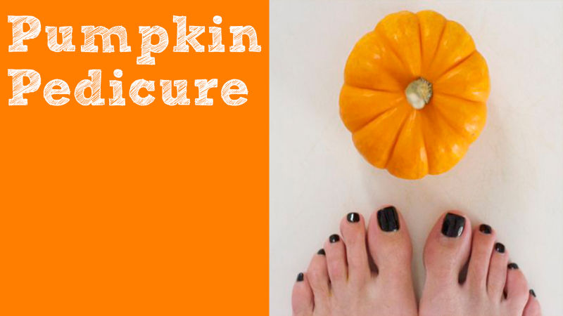 Watch Allure Insiders | DIY Pumpkin Pedicure | Allure ...
