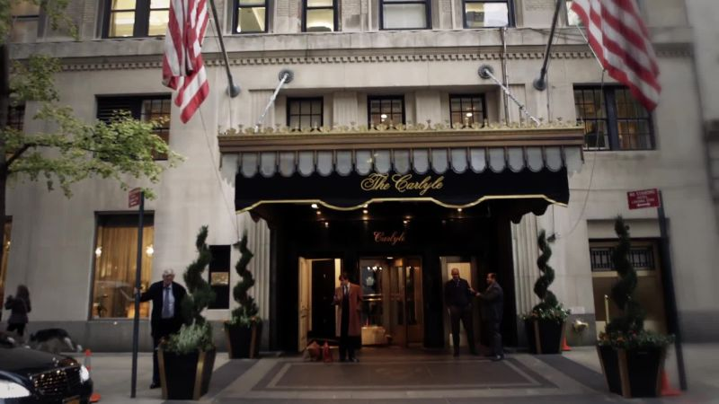 The carlyle cond nast traveler videos the scene for Unique hotels nyc
