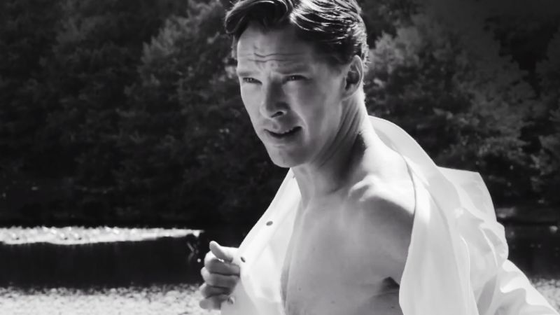 Watch The Hollywood Issue Benedict Cumberbatch S Wet