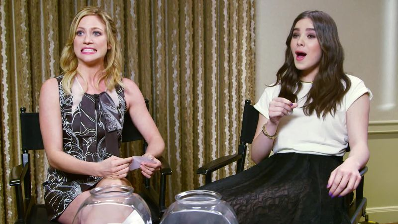 Watch The Cast Of Pitch Perfect 2 Imitates Famous People Doing Everyday Things Vanity Fair