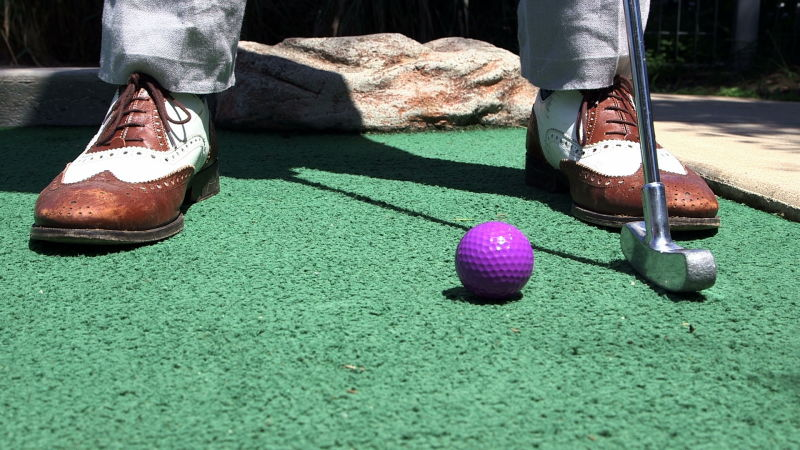 Watch The Cartoon Lounge High Jinks On The Mini Golf Course The New Yorker Video Cne