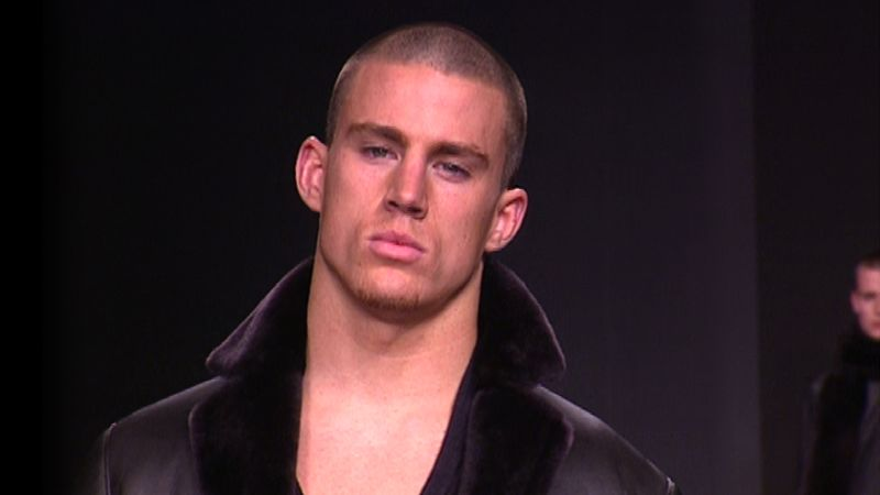 channing tatum�s first runway show in milan vogue videos