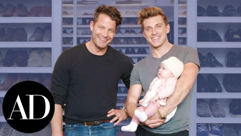 closet confidential with nate berkus and jeremiah brent architectural digest videos the scene. Black Bedroom Furniture Sets. Home Design Ideas