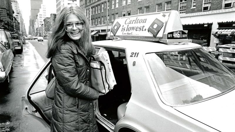 Watch Notes From All Over Gloria Steinem Doesn T Drive