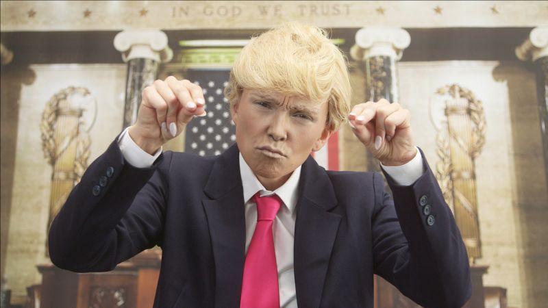 Watch Kandee Now | Donald Trump Halloween Makeup Tutorial ...
