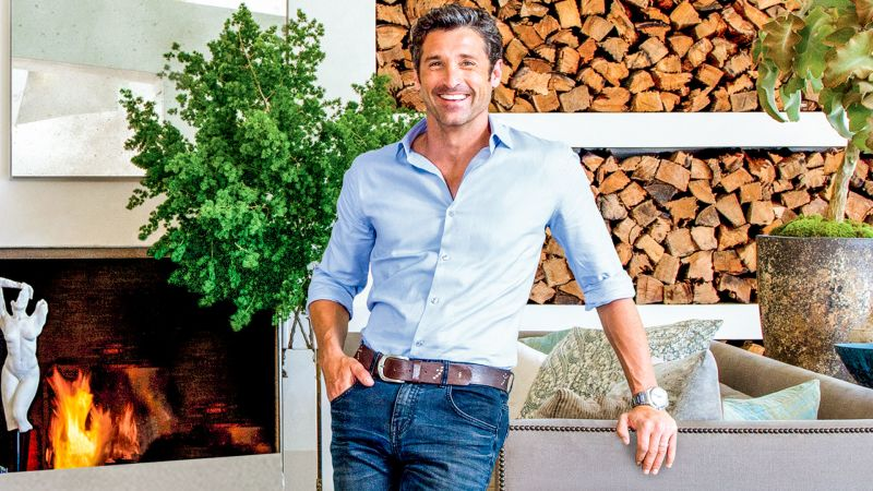 Watch Cover Shoots Ad Visits Patrick Dempsey At His