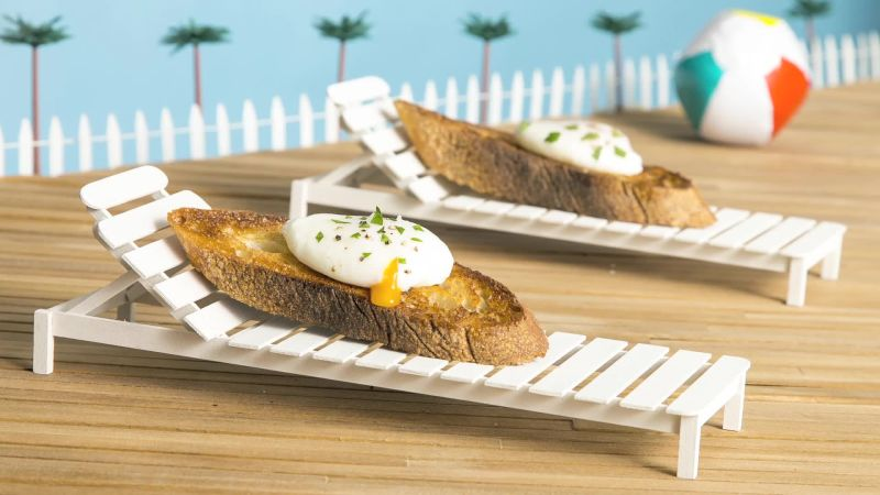Watch Cooking Magic How To Poach Eggs Perfectly Epicurious Video