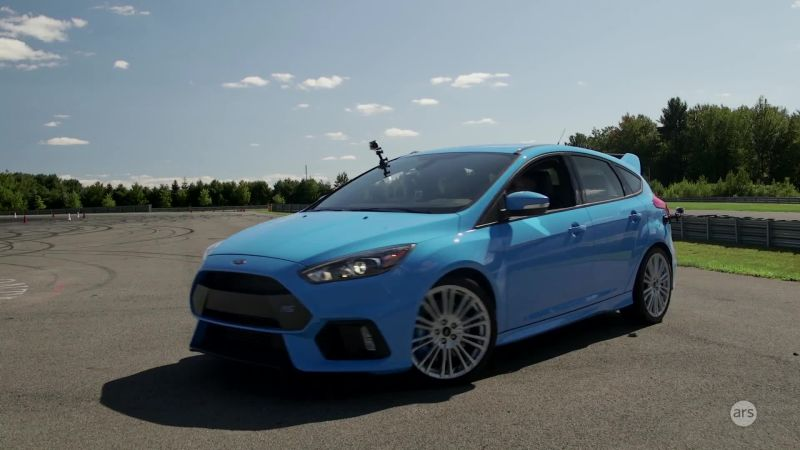 Watch Cars A Drifting Lesson In A Ford Focus Rs Ars Technica