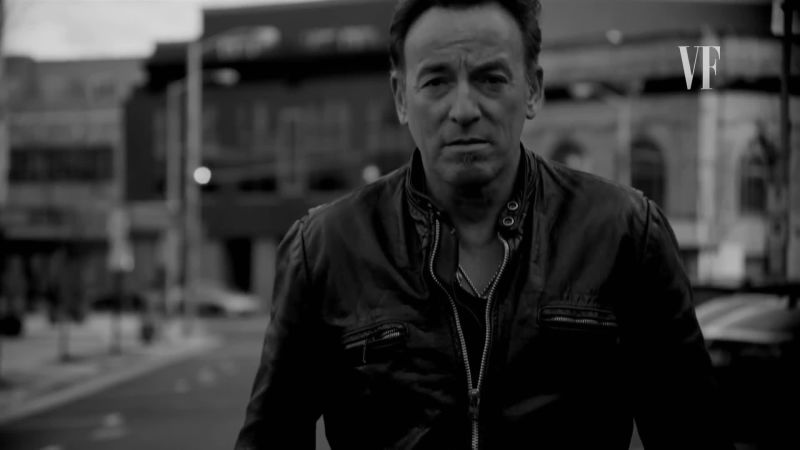 Watch Bruce Springsteen Growin Up Vanity Fair Video Cne