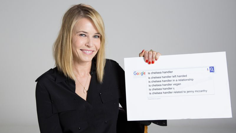 Chelsea Handler Answers the Web's Most Searched Questions