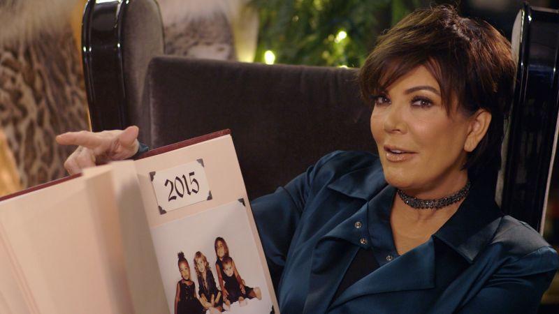 Kardashian Christmas Cards.10 Years Of Kardashian Christmas Cards