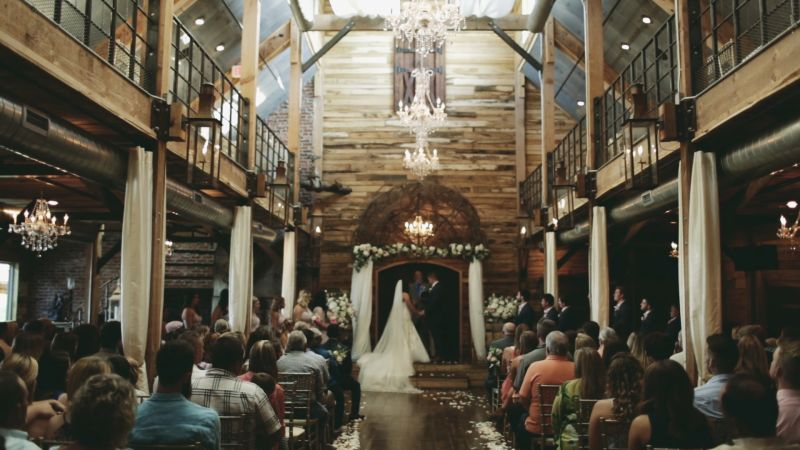 The best rustic wedding venues in america brides videos for Top wedding venues in the us