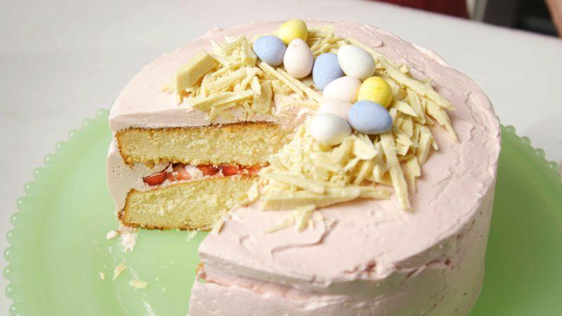 Epicurious Strawberry Cake