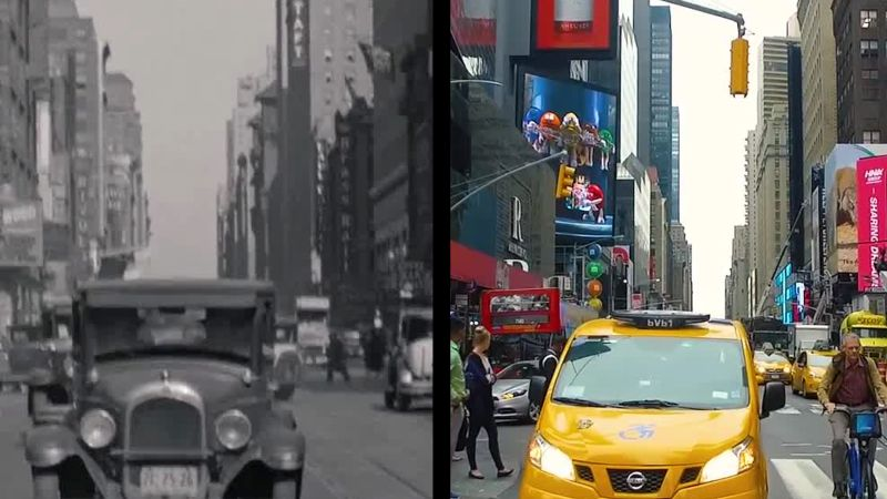 Watch Eighty Years Of New York City Then And Now The