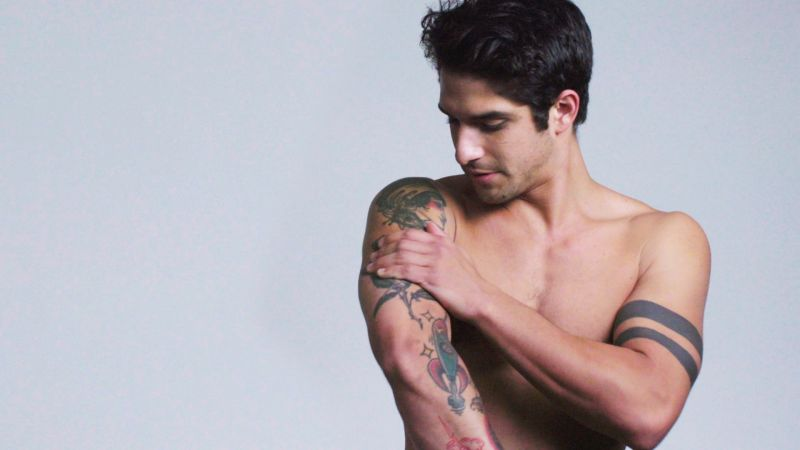 Map Placeholder Dark Symbol: Watch Teen Wolf's Tyler Posey Explains His Tattoos