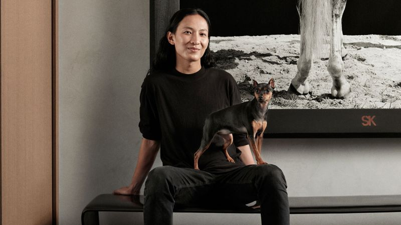 Watch alexander wang went 50 shades of black on his - Architectural digest home show 2017 ...