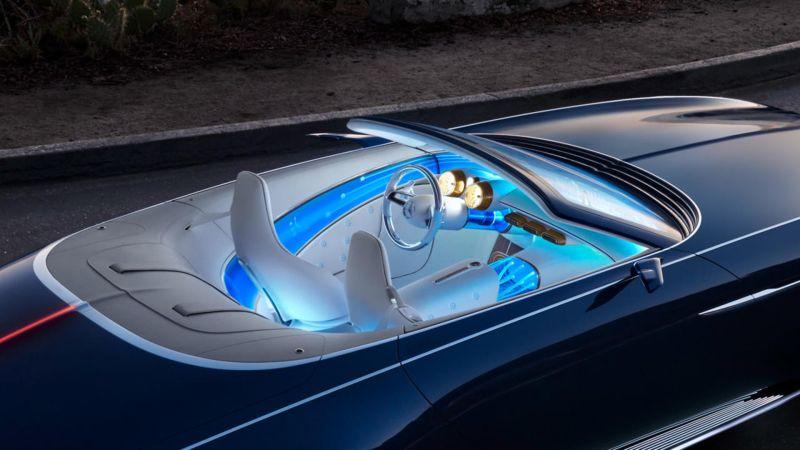 Watch Mercedes Benz Made An Ultra Luxurious Electric Car