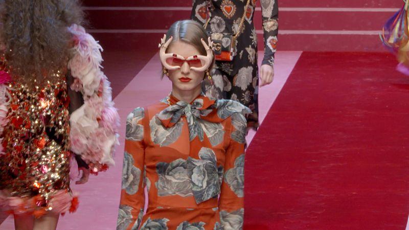 d01f7e677c Watch Vogue Fashion Week | Dolce & Gabbana Spring 2018 Ready-to-Wear |  Vogue Video | CNE | Vogue.com