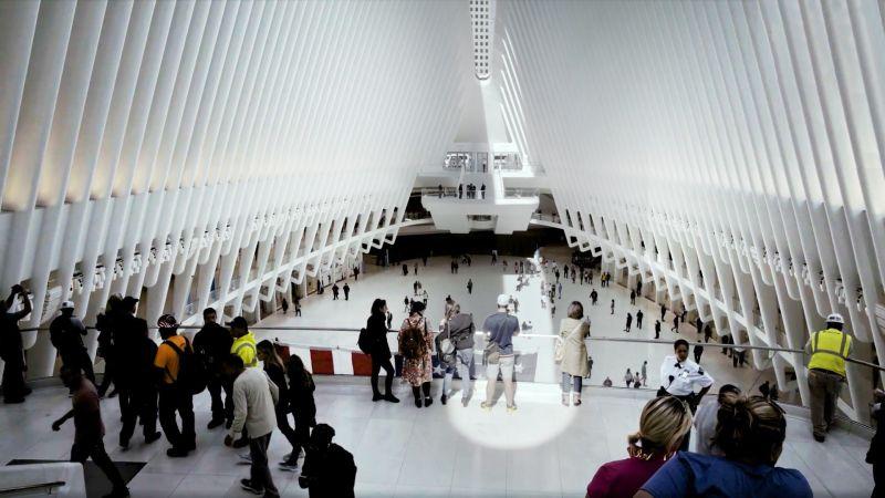 Watch The Oculus Opens Santiago Calatrava S Silent