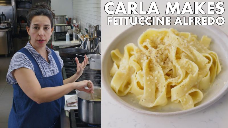 Carla Makes BA's Best Fettuccine Alfredo