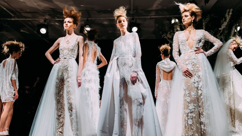 Top 2019 Wedding Dresses: Watch Top Wedding Dress Trends For Spring 2019