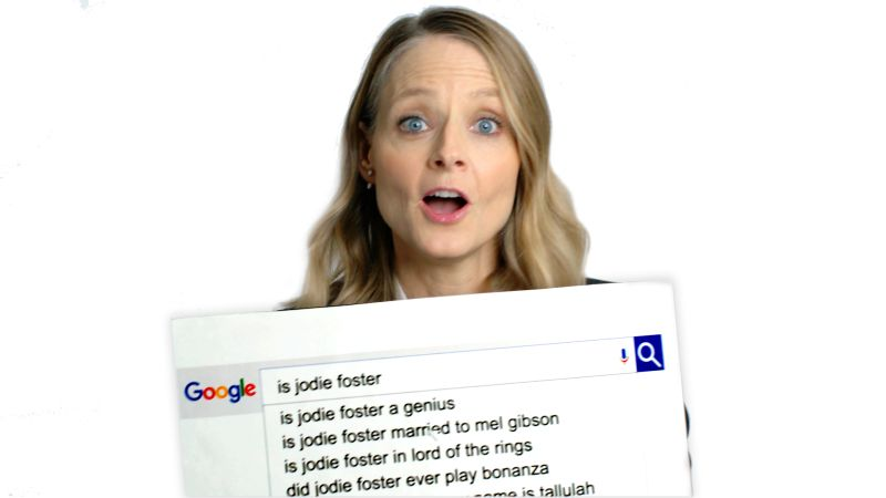 Jodie Foster Answers the Web's Most Searched Questions
