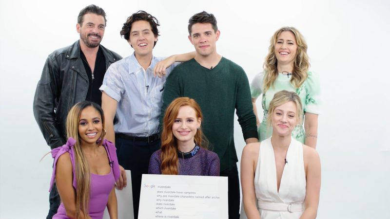 Riverdale Cast Answers the Web's Most Searched Questions