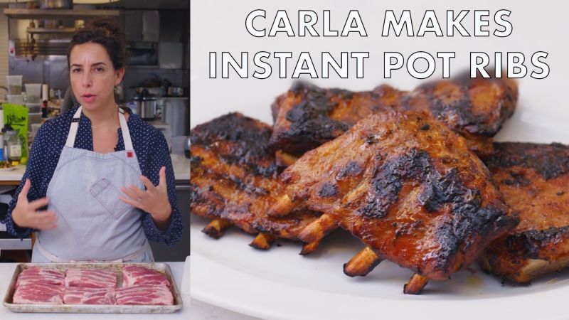 Carla Makes Instant Pot Ribs