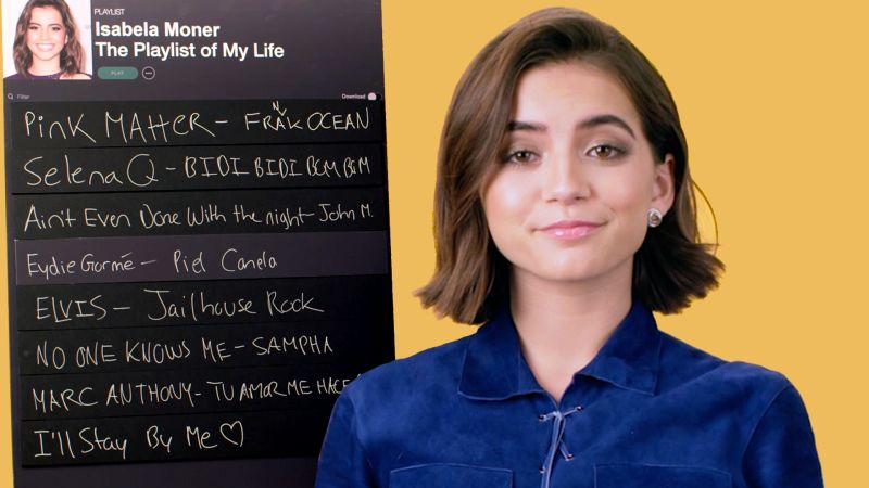 Watch Playlist Of My Life Isabela Merced Creates The Playlist Of Her Life Teen Vogue Video Cne