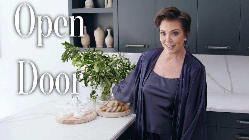afb7e246ac0e03 Watch Open Door | Inside Kris Jenner's Hidden Hills Home | Architectural  Digest Video | CNE