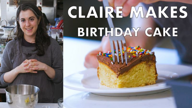 Watch Claire Bakes Birthday Cake