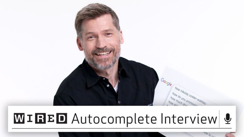 Nikolaj Coster-Waldau Answers the Web's Most Searched Questions
