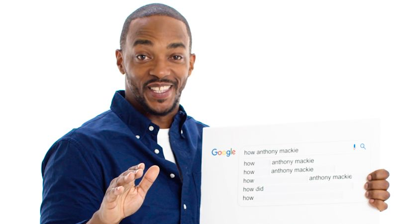 Anthony Mackie Answers the Web's Most Searched Questions