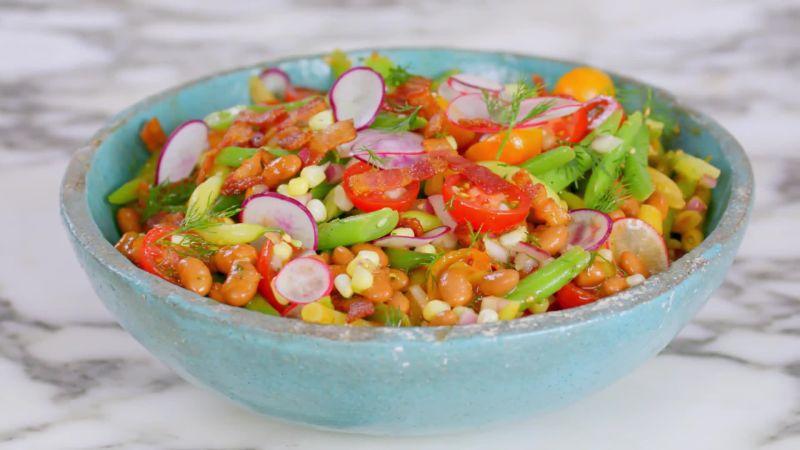 Southwestern Bean, Corn, & Tomato Salad