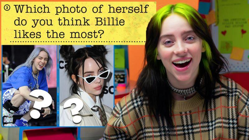 Watch Fan Survey Billie Eilish Guesses How 4 669 Fans
