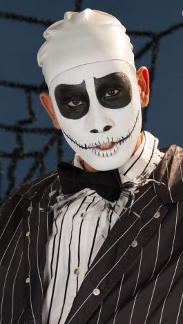 Christmas Halloween Makeup.Watch Quick Pretty Jake Skellington From Nightmare