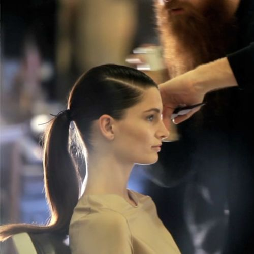 Surprising Watch The Monday Makeover The Side Parted Ponytail Vogue Video Short Hairstyles Gunalazisus