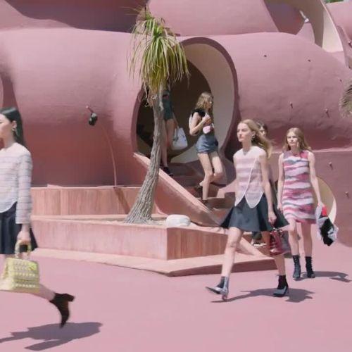 924837c52e Watch Dior Cruise 2016 Runway Video