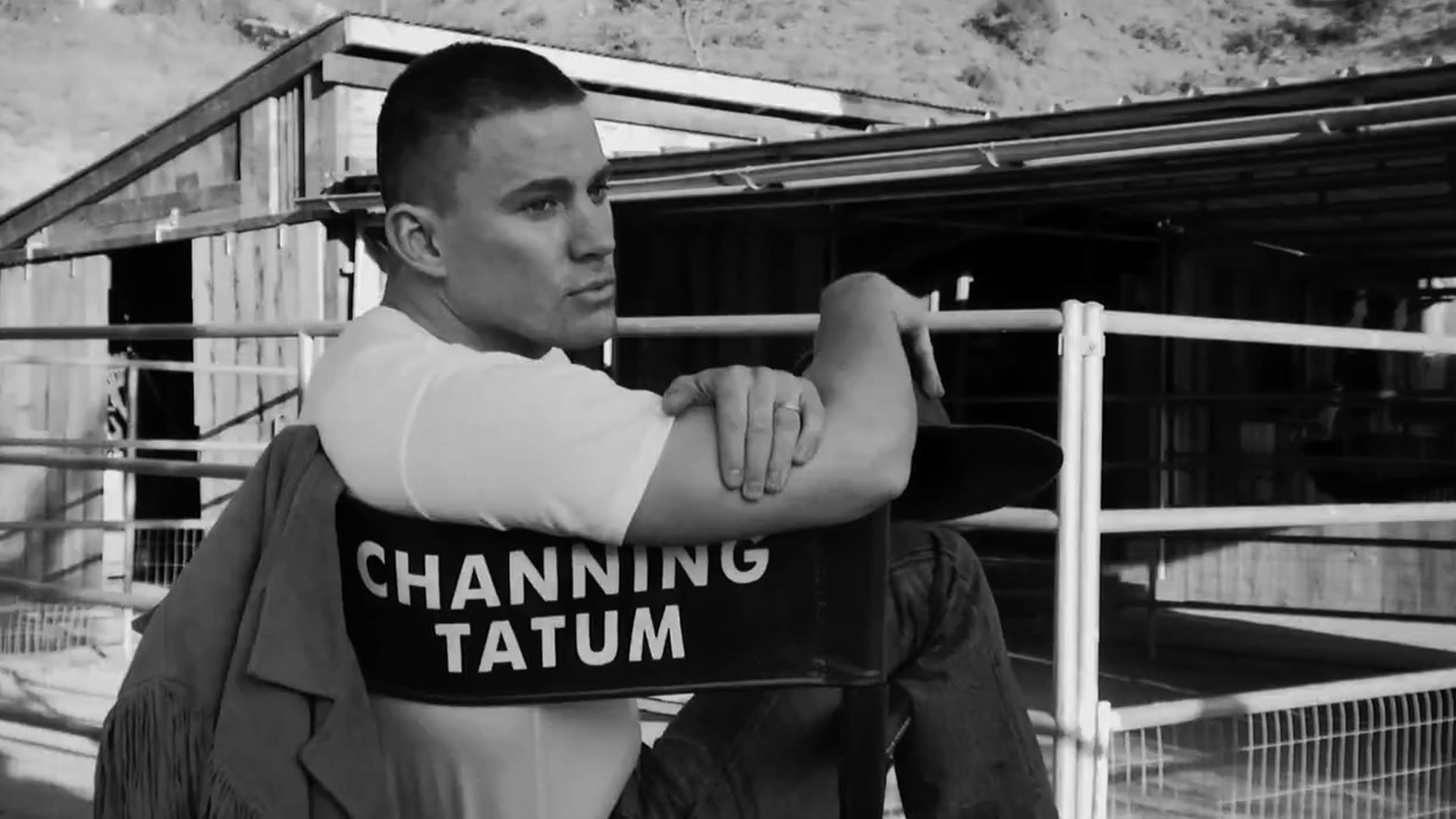 Watch Vintage VF | Channing Tatum Playing with Puppies