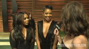 Gabrielle Union and Regina Hall at the 2014 V.F. Academy Awards Party