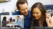 Chrissy Teigen Coaches a Speed Dater Through an Earpiece (Episode 1)