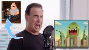 Patrick Warburton (Joe Swanson) Improvises 9 New Cartoon Voices