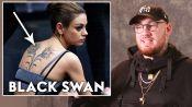 Tattoo Artist Bang Bang Reviews Movie Tattoos, from 'Moana' to 'Black Swan'