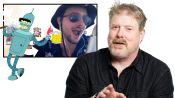 John DiMaggio (Futurama's Bender) Reviews Impressions of His Voices